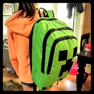 Backpack minecraft sweeper, NWOT